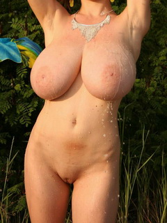 Absolutely the biggest tits in the World, 100% natural - Abelena